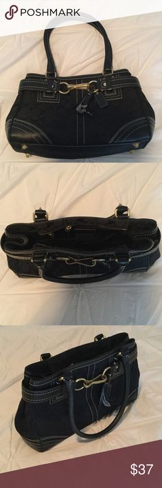 Black Coach purse Black Coach purse Coach Bags