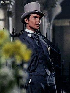 "Jeremy Brett in ""My Fair Lady"" 1964."