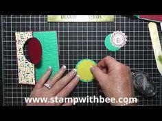 """Dianne Will Teach Me That"" Stampin'Up! Thinlit Card Dies Birthday Card Video"
