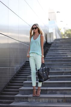 Mint green is ready for spring!