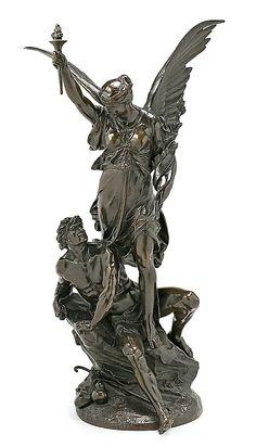 Bronce Escultura, Hecha a Mano Estatua Guerreros
