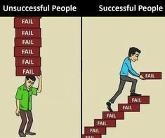 It makes sense to learn and fail,because you will be perfect someone day. Those who try and fail,and also try again will be successful Invest and change your status Motivational Picture Quotes, Inspiring Quotes, True Quotes, Daily Quotes, Reality Quotes, Success Quotes, Pictures With Deep Meaning, Meaningful Pictures, Successful People