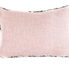 Pink rectangular scatter cushion from Chic Republic Interiors