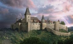Fictional reconstruction of Cachtice Castle in modern-day Slovakia (formerly in Hungary) in the film Bathory (2008).