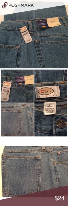 "Talbots Jeans Light weight boot cut jeans. Waist measures 32"" with a 30"" inseam. Talbots Jeans Boot Cut"
