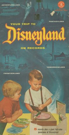 Kiddie Records Weekly - awesome vintage website with audio files of kids records from the 40's & 50's