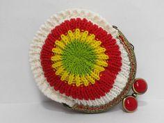 Monedero crochet hecho a mano. de NagoreGaramendi en Etsy