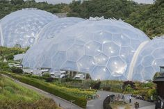 The Eden Project in Engeland