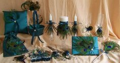Lots of options for how to incorporate feathers