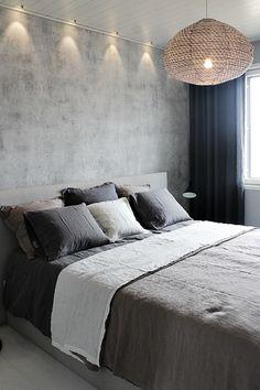 pellavalakanat,dekotuote,makuuhuone,harmaa,harmonia