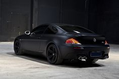 BMW M6 with Meisterschaft