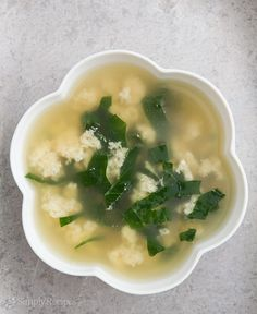 Italian Egg Drop Soup, Stracciatella Recipe | Simply Recipes