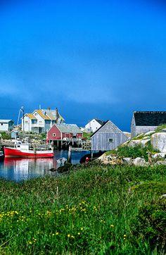 .~Peggy's Cove (fishing village), near Halifax, Nova Scotia, Canada~. @adeleburgess