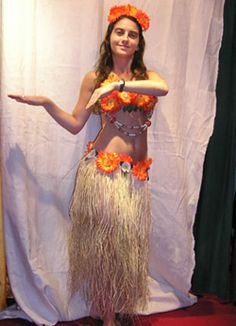 hawaiana disfraz