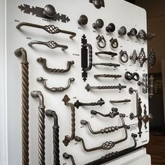 Disappointed with the hardware selection everywhere you look? Come into our showroom and find a wide array of choices that are as current sleek and modern as you are. Custom Woodworking, Disappointed, Asheville, You Look, Showroom, The Selection, Choices, Door Handles, Hardware