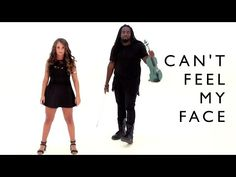 The Weeknd - Can't Feel My Face (cover by DSharp and Ali Brustofski) - YouTube