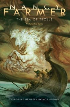 The Sea of Trolls (Sea of Trolls Trilogy Series #1) - The year is A.D. 793. In the next months, Jack and his little sister, Lucy, are enslaved by Olaf One-Brow and his fierce young shipmate, Thorgil. With a crow named Bold Heart for mysterious company, they are swept up into an adventure-quest in the spirit of The Lord of the Rings.