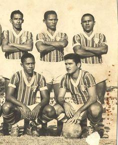 Fortaleza Esporte Clube e o time de 1960.  Gera, Sanatiel e Purunga, em pé; Charuto e Moésio, agachados  Quantas curtidas eles merecem?  #EuSouFortaleza #FEC