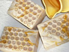 Oatmeal, Milk, and Honey Goats Milk Soap / Honey