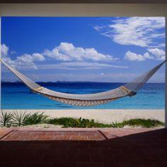 Hammock beach scene