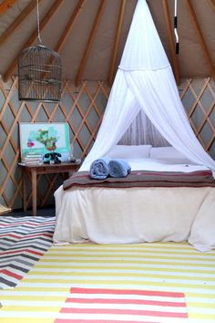 tent guest house.