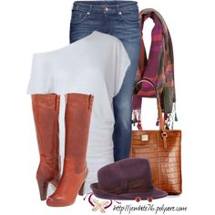 The perfect outfit for lunch with the girls or a day out shopping