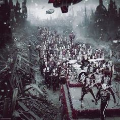 Welcome To The Black Parade.One of the most beautiful,transfixing,absolutely amazing music videos and songs. Just awesome.
