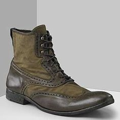 "Love these!!  John Varvatos Men's ""Murray"" Spectator Boot - Photo"