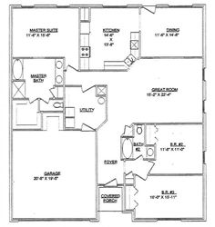 metal 40x60 homes floor plans | Steel Frame Home Package Steel Home Package for Sale | LTH Steel ...