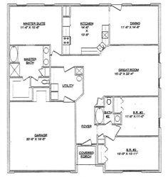 b7cb42a1713325d48591c59ce52a6ca0 steel frame homes steel homes 40x60 house floor plans barn home pinterest,House Plans 40 X 60