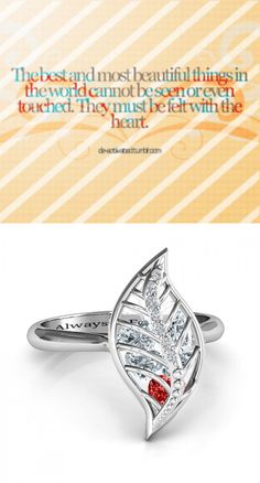 https://www.neatie.com/custom-engraved-mint-to-be-cage-leaf-ring-with-accents The best and most beautiful things in the world can not be seen or even touched. They must be felt with the heart. MINT TO BE CAGE LEAF RING WITH ACCENTS #Cagering #Finejewellery The mint leaf is believed to bear healing and protective properties that radiate from within. Channel the enchanting energies of the mint leaf and fill it with the birthstones of your loved ones to keep them embraced in your eternal love…