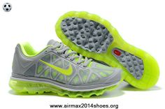 super popular 80eed 047ce Authentic Nike Air Max 2011 Mens 429889-514 Dark Grey Pine Green For Sale  Nike