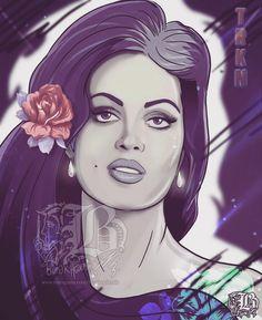 Türkan Şoray, ve Tanrı kadını yarattı...  (Kaynak: Instagram - burakagdemir)  #türkanşoray #türkansoray #popart #yesilcam #yeşilçam #sinema #türksinemasi #burakağdemir #girl #woman #women #purple
