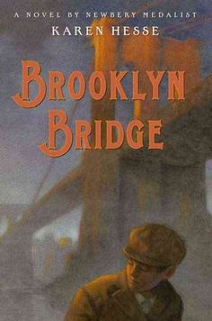 BROOKLYN BRIDGE by Karen Hesse and narrated by Fred Berman. An outstanding performance by Fred Berman brings this historical fiction novel to life. Set in Brooklyn at the beginning of the 19th century, there are two story threads. The first involves the Michtom family, Russian immigrants, who invented the first stuffed teddy bear. The second smaller, yet heartbreaking one, is about homeless children and ghost living under the Brooklyn Bridge. Some rough topics are addressed.