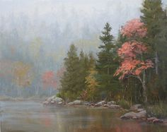Autumn Solitaire by Kathleen Dunphy Oil ~ 16 x 20