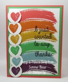 Stamp a Palooza swap from Summer Moser