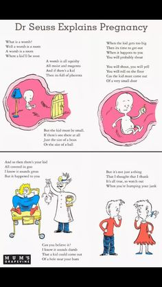 How to have a baby by dr Seuss