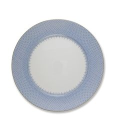 Mottahedeh Dinner Plate, Cornflower Lace #williamssonoma