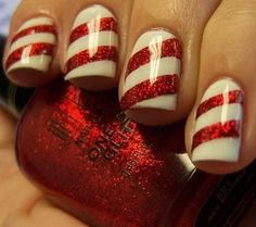 Candy Cane Stripe...might just have to do this!