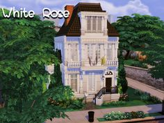 Sims 4 Game Mods, Sims 4 Mods, Abandoned Library, The Sims 4 Lots, Mod Hair, Rose House, Outdoor Retreat, Sims Community, City Living