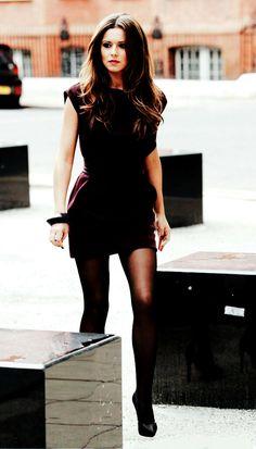 Mini & Tights #CherylCole
