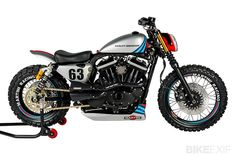 Harley XL883R by Shaw Speed & Custom | Gear X Head