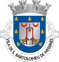 Brasão de armas de São Bartolomeu de Messines