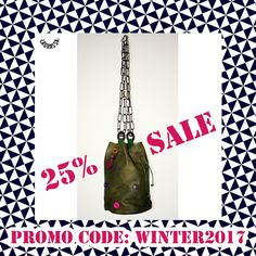 Winter sales! 25% off discount on all La Grassa bags! Take advantage of this fantastic opportunity! Unique bags designed and produced in Sicily by me, Claudia La Grassa ❤ #slowfashion #sustainablefashion #maker #accessories #bags #genuineleather #diy