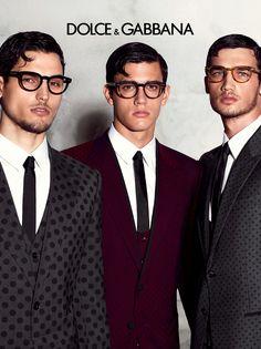 11ae7aa635d ... Travis Cannata and Xavier Serrano front the Spring Summer 2015 eyewear  campaign of Dolce   Gabbana
