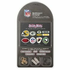 NFL Green Bay Packers Shrinky Dinks by Pangea Brands. $10.75. Includes Key Chains, Pins, Zipper Pulls, Magnets, and Stand Ups. Included 12 Pre-Colored Shrinkable Graphics. Made in the USA. Adult Supervision Required During Baking. The Shrinky Dinks Kit by Pangea Brands contains 12 pre-colored shrinkable graphics to create your own key chains, pins, zipper pulls, magnets, and stand ups in just 4 easy steps! Shrinky Dinks are made of an amazing plastic that shrinks ...