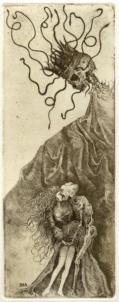 Death - Iona Tarot  --  If you love Tarot, visit me at www.WhiteRabbitTarot.com