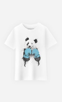 T-Shirt Enfant The Winner Panda by Solti Balazs - Wooop.fr