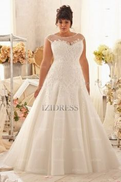 Pin for Later: 14 Gorgeous Wedding Gowns For Plus-Size Women Morilee by Madeline Gardner Julietta Wedding Dress Morilee by Madeline Gardner Julietta Wedding Dress (available at Morilee) Plus Size Wedding Gowns, Wedding Dress Styles, Designer Wedding Dresses, Wedding Attire, Bridal Dresses, Gown Wedding, Lace Wedding, Trendy Wedding, Wedding Ideas