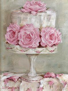 Antique Passion-Láminas Antiguas,Vintage,Retro...y manualidades varias: Pink Cottage